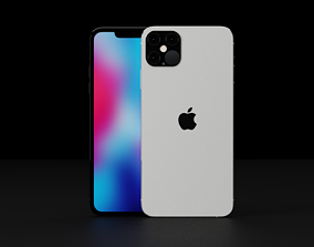 Collection of iPhone 12 Concepts 3D model