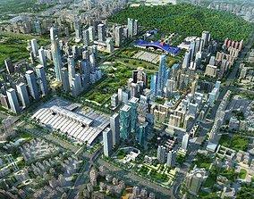 3D City Big Cityscape 008