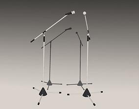 Microphone 001 3D asset