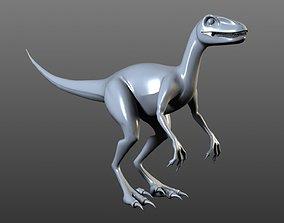 Low-Poly dinosaur 3D model