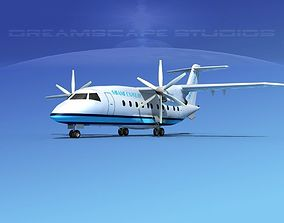 Dornier Do-328-130 Miami Express 3D model