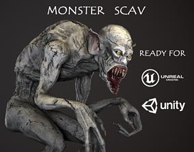 3D asset Monster Scav