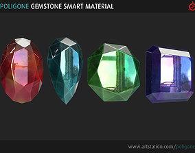 Poligone Gemstone Smart Material for Substance 3D model