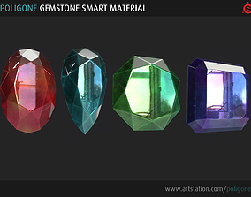 Poligone Gemstone Smart Material for Substance Painter 3D