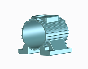 Induction Motor Body - Kids and 3D printable model 1