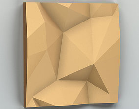 architectural 3D model Wall panel 014