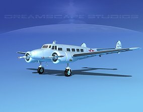 Lockheed L10 Electra Delta Airlines 3D