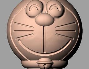 3D Crafts sculpture model Round Doraemon C000 doraemon