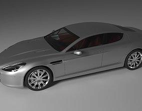 3D model Aston Martin Rapide 2011