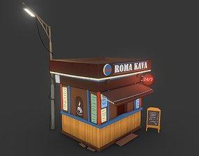 Roma Kava Coffe 3D model