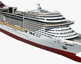 Cruise Ship MSC Musica 3D model