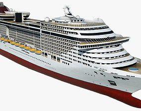 Cruise Ship MSC Musica 3D model