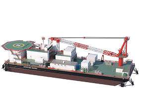 3D Offshore Barge