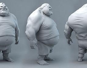 Fat Dude Jack 3D printable model