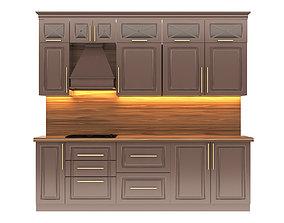 3D model Classic Kitchen Wems