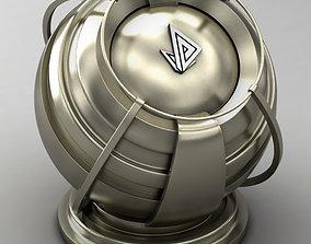 3D model VRAY SHADER---METAL---Nickel