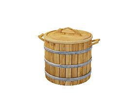 3D model realtime decoration Barrel