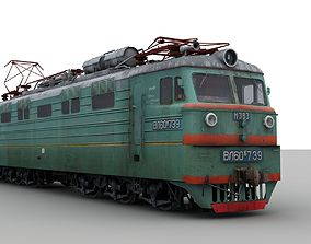 3D model Soviet electirc locomotive VL60