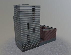 3D asset Amsterdam Building2