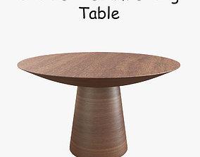 3D model furniture Sean Dix Drum Dining Table