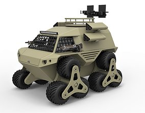 3D Concept truck for zombie apocalypses
