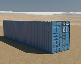 40ft Container 3D