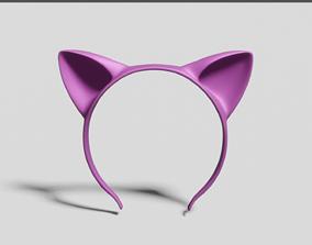 3D print model Headband Cat ears