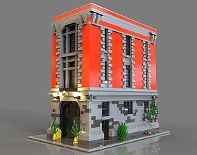 Lego Headquarters 3D asset