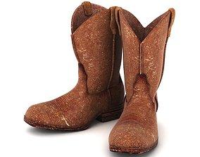 3D Mens Cowboy Boots