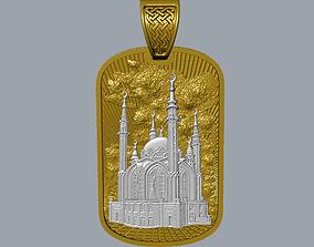 3D printable model Kul Sharif mosque pendant
