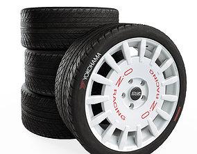 OZ Rally Racing white 3D model