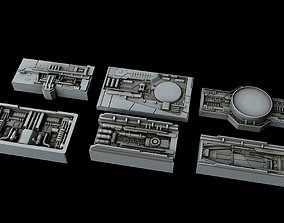 Spacecraft Sheathing and Structure Part X 3D