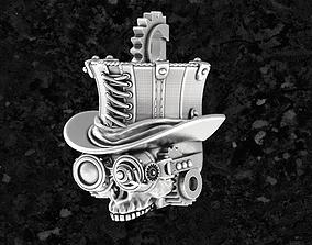 Skull-steam 3D print model