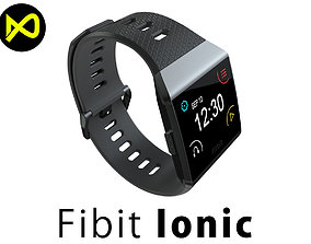 3D Fitbit Ionic Charcoal