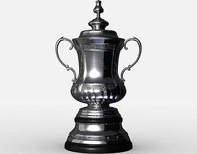 3D model FA Cup Trophy