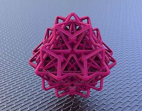 3D printable model BRO WOVEN OCTAHEDRON