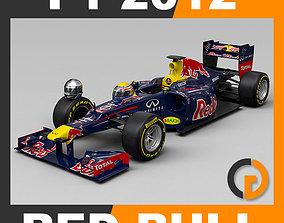 webber 3D F1 2012 Red Bull Racing RB8