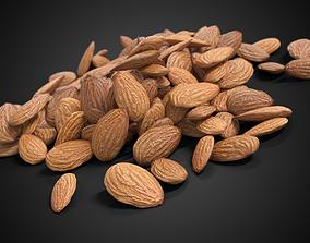 3D model Almonds Unshelled