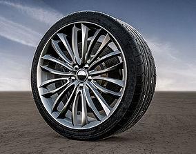 3D Alfa Romeo 8C Spider Rims