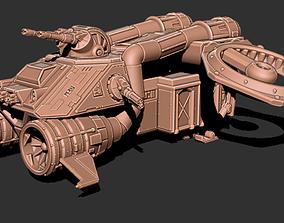 Thunderbird Heavy Assault Transport 3D print model