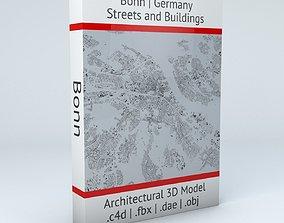 Bonn Streets and Buildings 3D