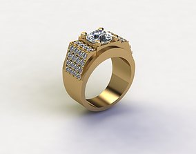 Fashion Man ring wear in any Party Popular in Asia R4 3D