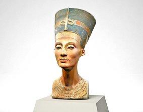 3D model egypt Egyptian Queen Nefertiti