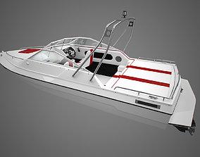 Generic Motorboat 3D model