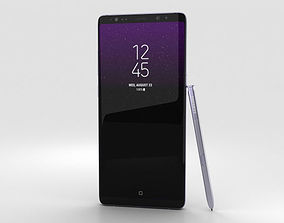 Samsung Galaxy Note 8 Orchid Grey 3D model