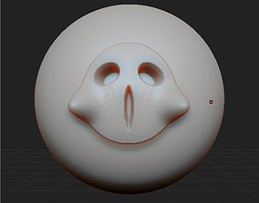3D Zbrush Funny ghost brushes