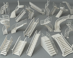3D Stairs - Part - 1 - 20 pieces