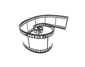 Video Film v2 001 3D asset