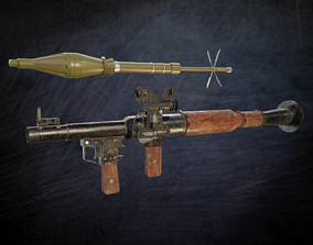 realtime RPG 7 and PSO Scope Game Ready Asset