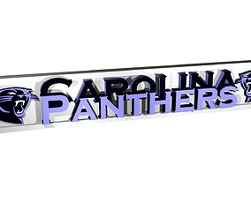 Carolina Panthers 3D